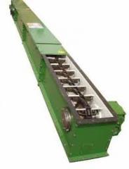 Conveyors, conveyors conveyors, scraper for bulk