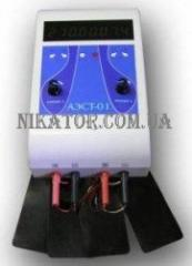 The device for AEST 01 miostimulyation (2-channel)