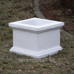 Concrete vase Cube