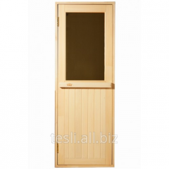 New door for a sauna from the producer of Tesli,
