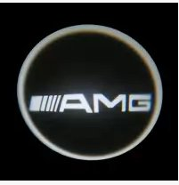 AMG car logo projection