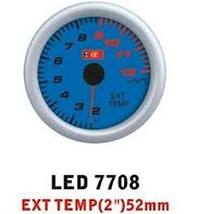 Ket Gauge LED 7708 device temperature of exhaust