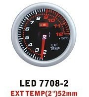 Ket Gauge LED 7708-2 device temperature of exhaust