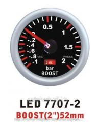 Turbine 7707 pressure - 2 LED arrow diam.52mm