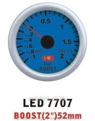 Pressure of the turbine is 7707 LED arrow