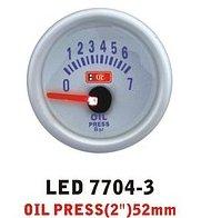 Dopolniyelny Ket Gauge LED 7704-3 device oil