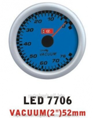 Depression in an inlet collector 7706 LED arrow