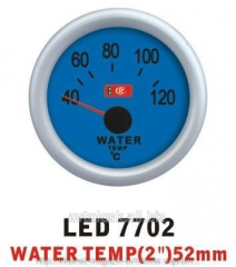 Water temperature is 7702 LED arrow diameter there