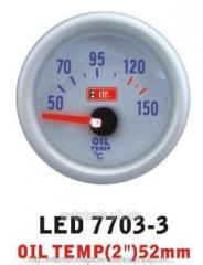 Temperature of oil 7703-3 LED - oil temp arrow
