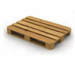 Wooden pallets from the producer