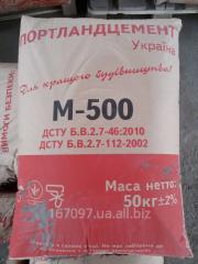 Цемент М 500 (портландцемент)