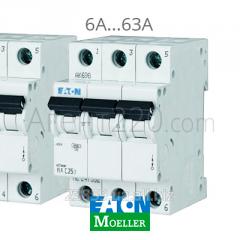 Автомат 3-полюсный PL4-C6/3 EATON (Moeller)