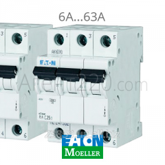 Автомат 3-полюсный EATON (Moeller) PL4-C20/3