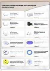 Accessories to nebulizers and inhalers of PARI