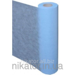 Sheet disposable of the SPANBOND nonwoven fabric