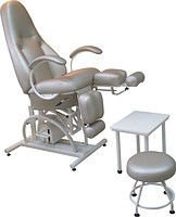 Chair pedicure KP-5RG (hydraulic adjustment of