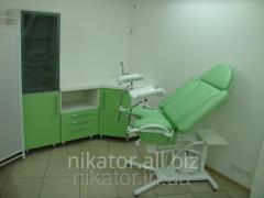 Кресло смотровое гинекологическое КС-3РГ (гидравлическая регулировка высоты)