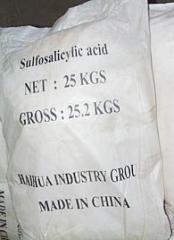 Sulphosalicylic acid