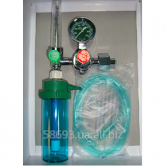Y-006 oxygen humidifier with a flowmeter and a