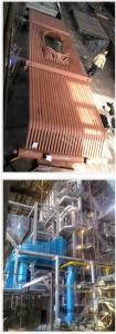 Production of boilers with a productivity of