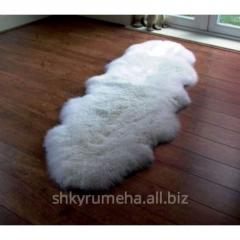 Ковер из 2-х овечьих шкур, модель 1