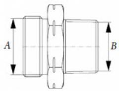 Соединительный элемент PN 25 Тип FAS