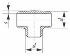 Соединительные элементы T-соединение PN 25, ...