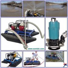 Manual pass Piranha dredges (USA) for the device