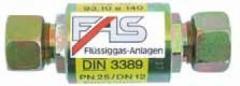 Изолятор PN25, DIN 3389, для двух частей трубопровода