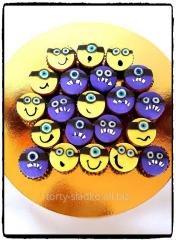 Minions cupcakes and Buvy