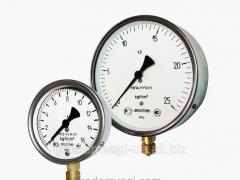 Compound pressure gage