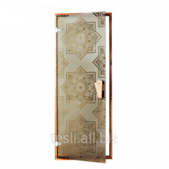 "Doors for a hammam ""Sezam"" to"