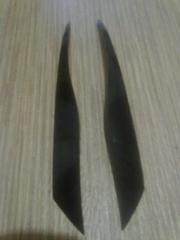 Реснички - накладки на фары mitsubishi OUTLANDER