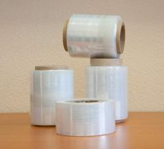Stretch film of 17 microns 250 m 10 cm