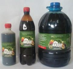 Biofertilizer Aydar, 1 l of river, TU U