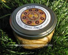 Ореховая паста (урбеч) из ядер грецкого ореха