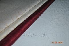 Fabric skatertny without impregnation – white