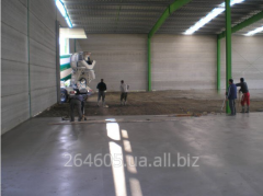 Concrete decorative shliifovanny bulk industrial