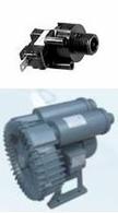 Compressors for a hydromassage