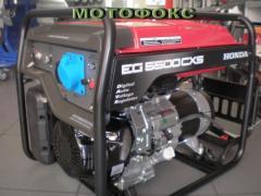 Gasoline-driven generator HONDA EG 5500 CXS