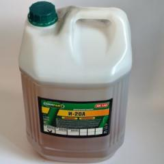 Industrial oil of I-20A of 20 l.