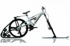 Снежный велосипед, Запорожье