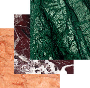Tile from marble, Products from marble