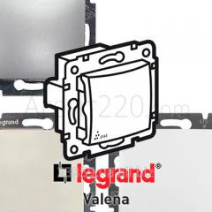 Переключатель 1-кл. IP44 (влагозащита) Legrand