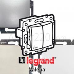 Переключатель 2-кл. IP44 (влагозащита) Legrand