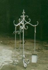 Sets of the chimney tool in Zaporizhia, Ukraine.