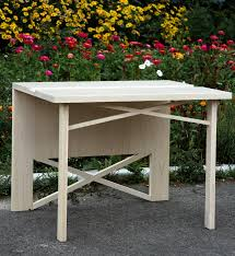 Little table from a tree, wooden little tables