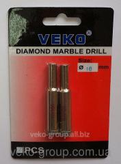 Drill diamond ring Veko 10*65mm