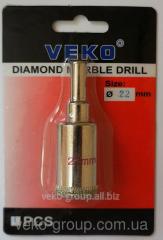 Drill diamond ring Veko 22*65mm