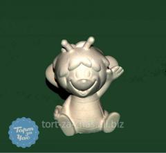 Молд силиконовый 3Д Пчелка Майя, код 594
